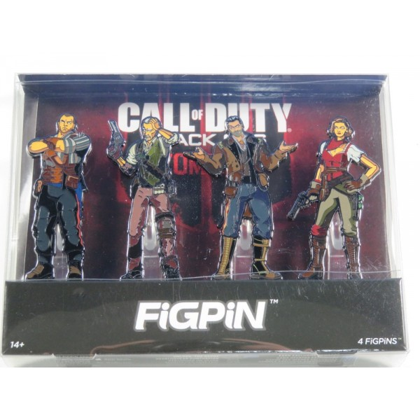 FIGPIN CALL OF DUTY BLACK OPS ZOMBIES NEW