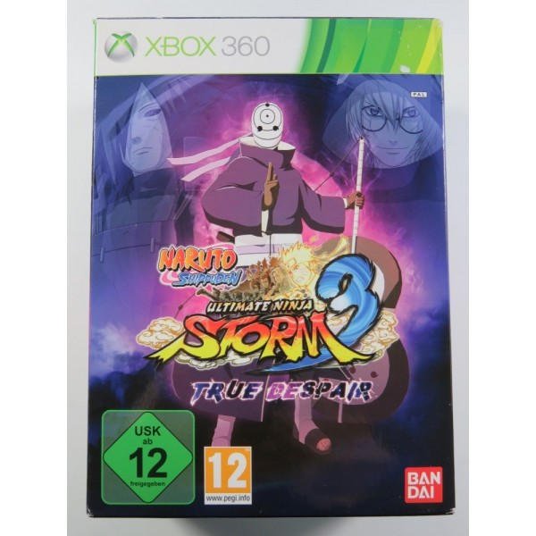 NARUTO SHIPPUDEN ULTIMATE NINJA STORM 3 TRUE DESPAIR XBOX 360 PAL-EURO OCCASION
