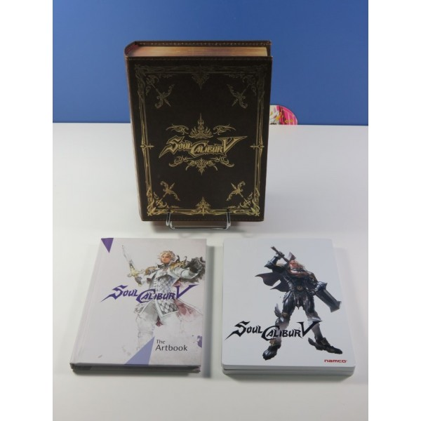 SOULCALIBUR V EDITION COLLECTOR XBOX 360 PAL-FR (COMPLET - GOOD CONDITION)(WITHOUT SLEEVE)