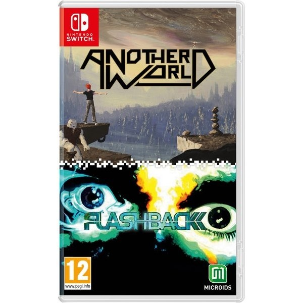 ANOTHER WORLD - FLASHBACK 20TH ANNIVERSARY EDITION SWITCH EURO OCCASION