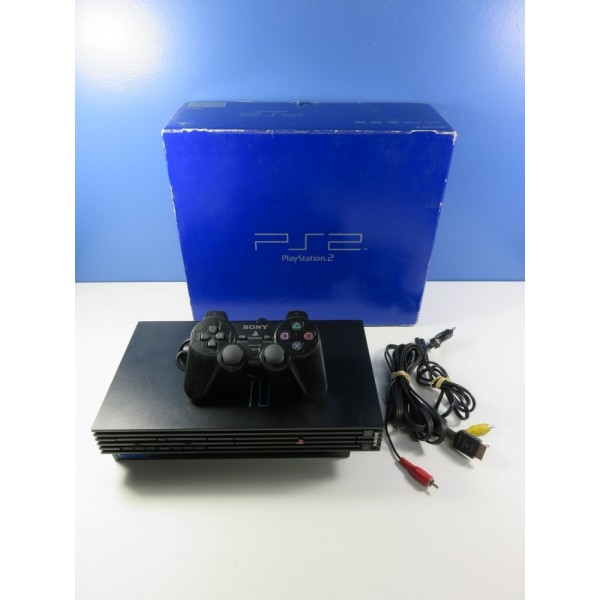 CONSOLE SONY PLAYSTATION 2 (PS2)(30004) PAL-EURO (BOXED)(WITHOUT MANUAL - GREAT CONDITION)(SERIAL C4025922)