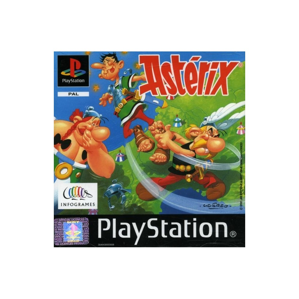 ASTERIX PS1 PAL-FR OCCASION