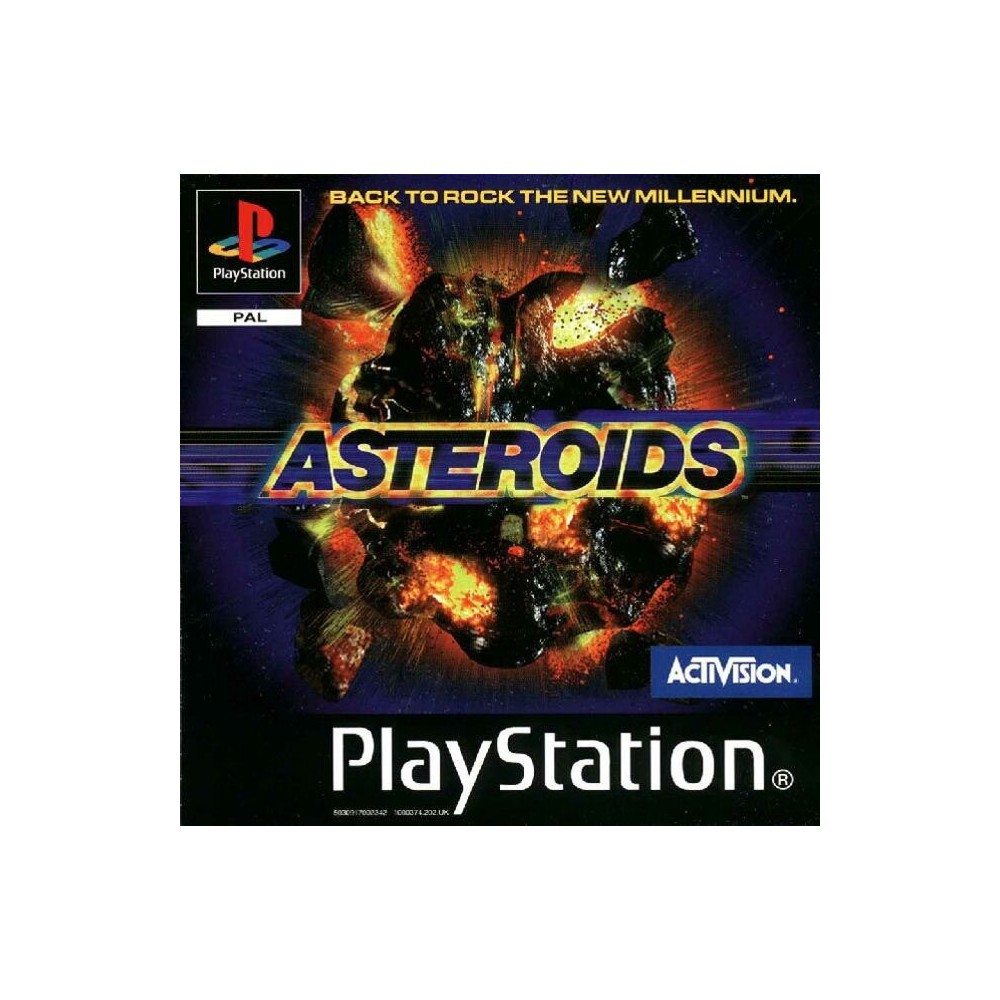 ASTEROIDS PS1 PAL-FR OCCASION