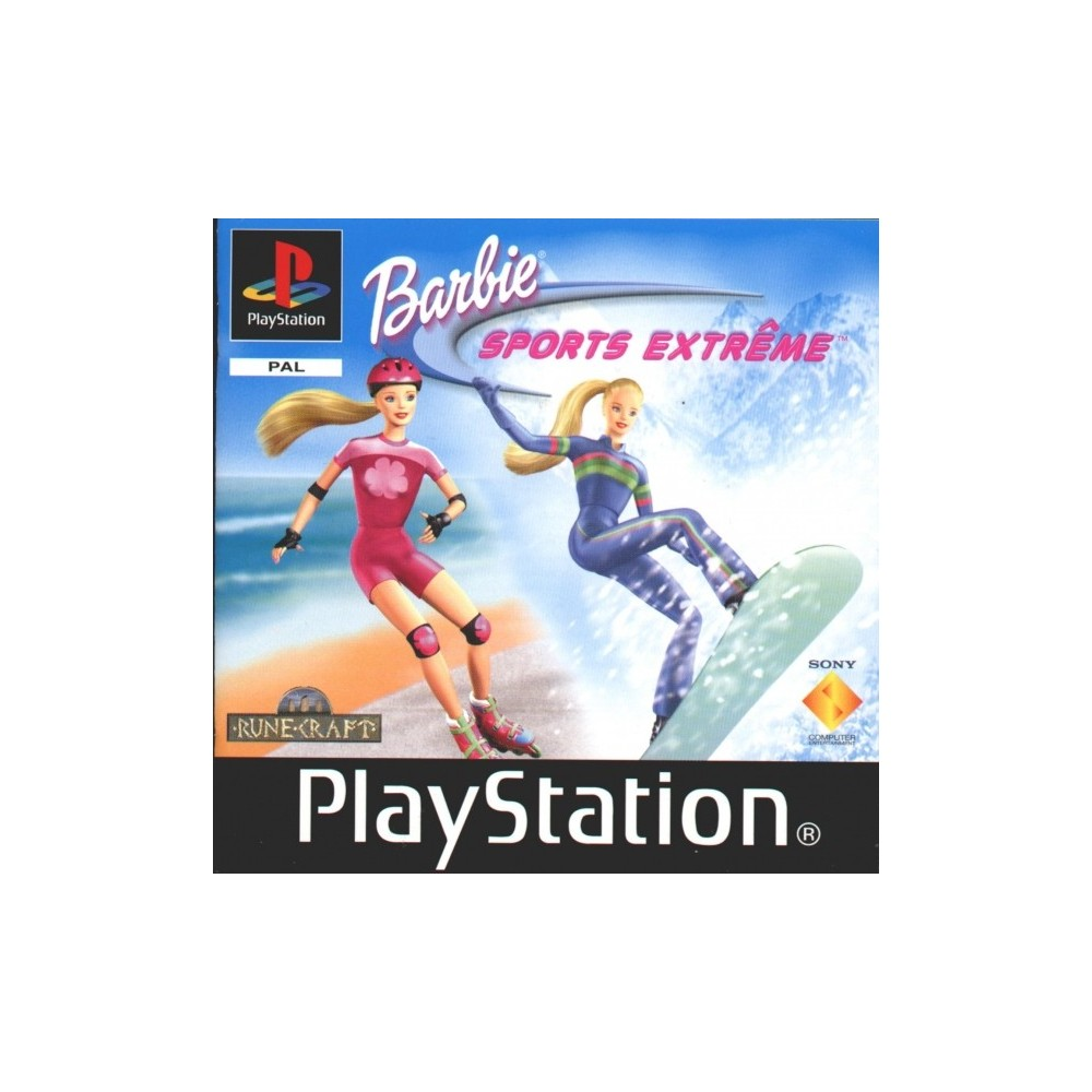 BARBIE SPORTS EXTREME PS1 PAL-FR OCCASION
