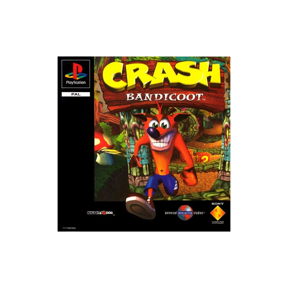CRASH BANDICOOT PS1 PAL-FR OCCASION
