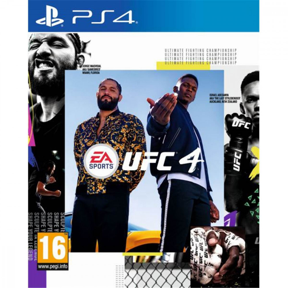 UFC 4 PS4 PAL-EURO-FR OCCASION