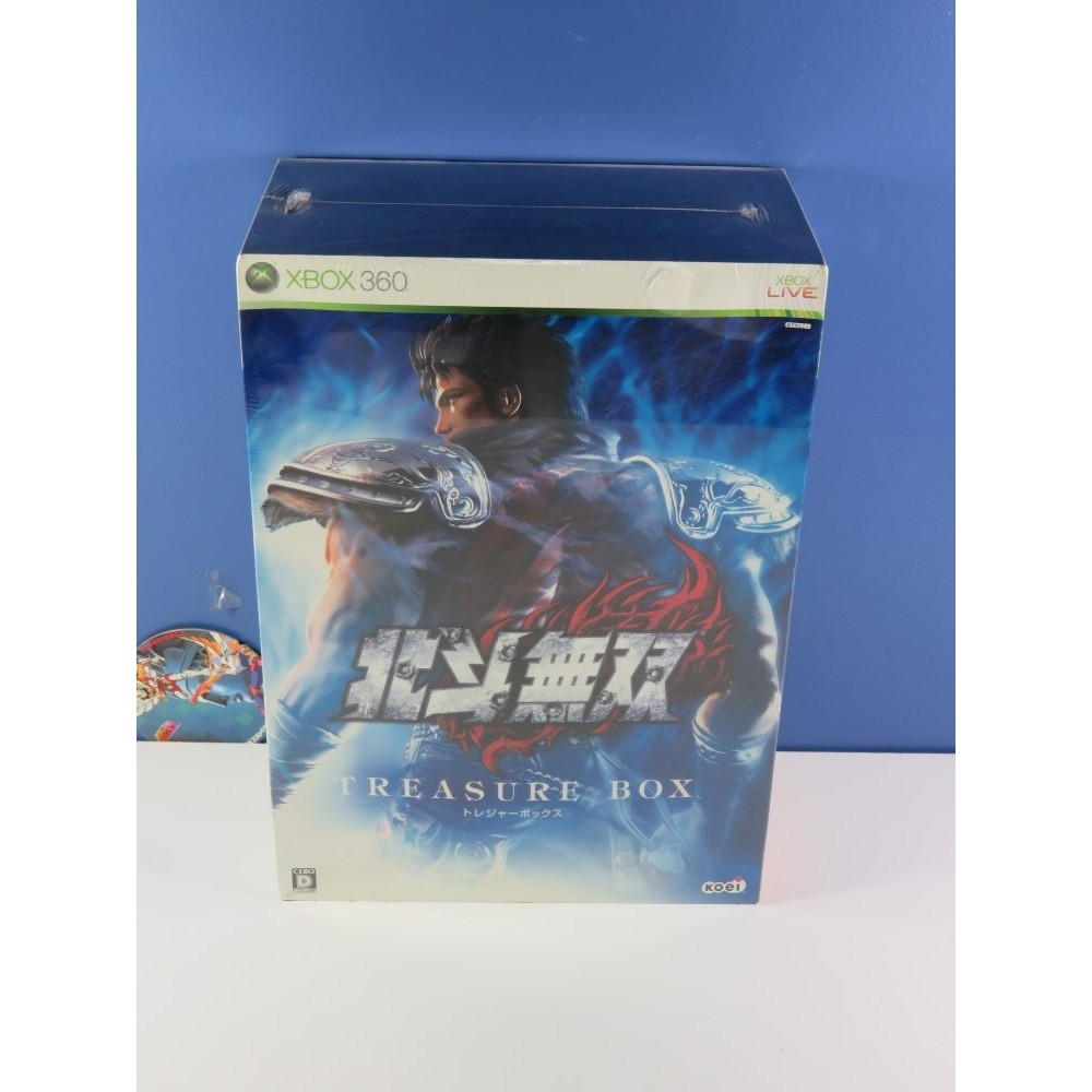 HOKUTO NO KEN TREASURE BOX XBOX-360 (X360) NTSC-JPN NEUF - BRAND NEW (REGION LOCK)
