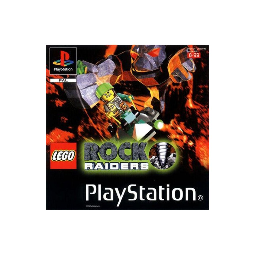 LEGO ROCK RAIDERS PS1 PAL-FR OCCASION