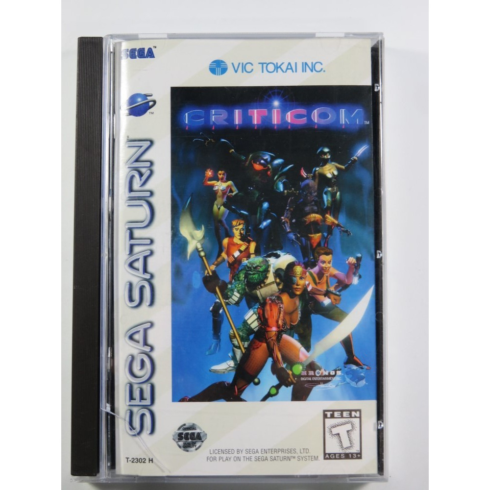 CRITICOM SEGA SATURN NTSC-USA OCCASION