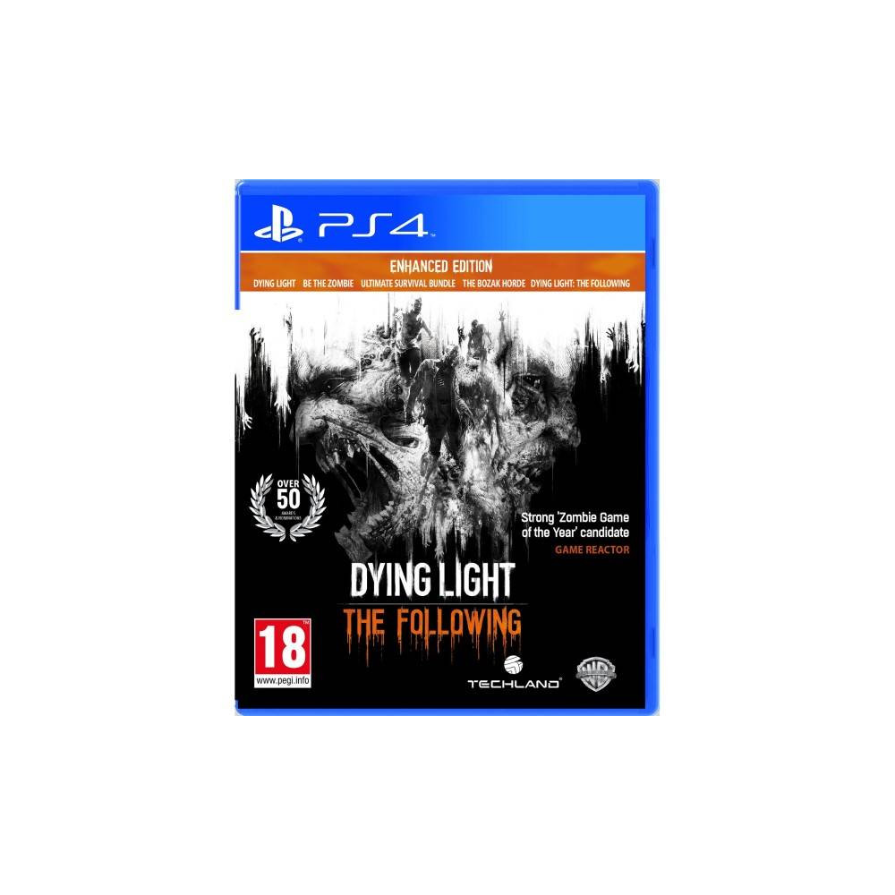 achat dying light the following enhanced edition ps4 multi occasion jeu playstation 4 46914. Black Bedroom Furniture Sets. Home Design Ideas