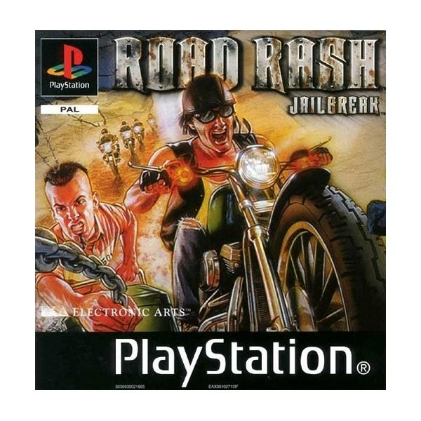 ROAD RASH JAILBREAK PS1 PAL-FR OCCASION