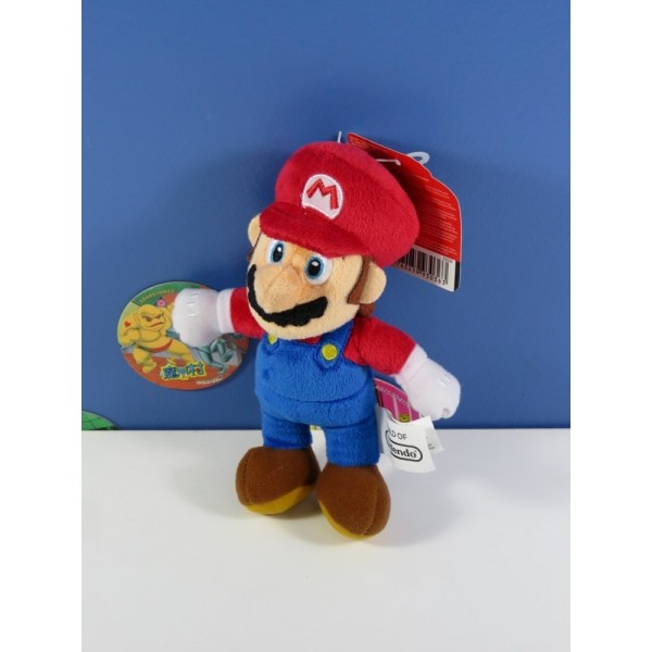PELUCHE WORLD OF NINTENDO MARIO 12 CM NEUF - BRAND NEW