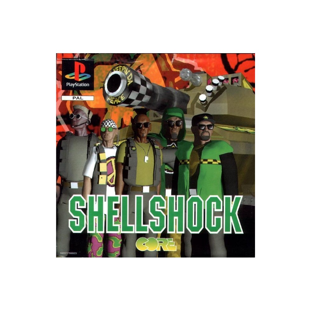 SHELLSHOCK PS1 PAL-FR OCCASION