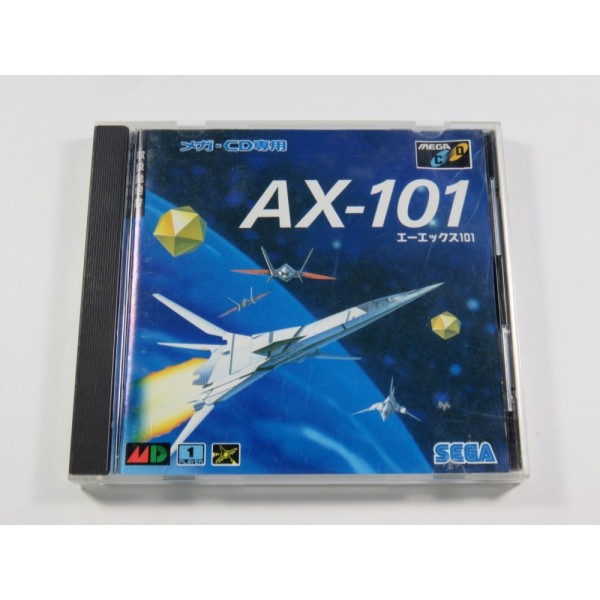 AX-101 SEGA MEGA-CD NTSC-JPN (COMPLETE - GOOD CONDITION)