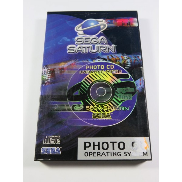 PHOTO CD OPERATING SYSTEM SEGA SATURN PAL-EURO (COMPLET - GOOD CONDITION OVERALL)
