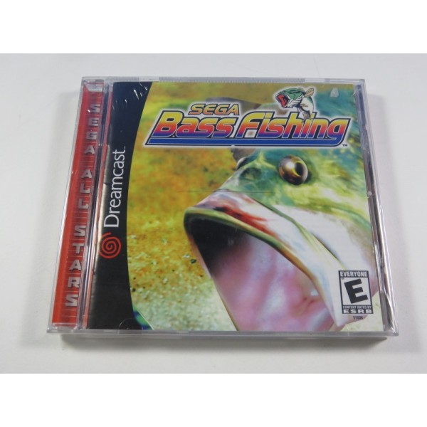 SEGA BASS FISHING SEGA DREAMCAST NTSC-USA BRAND NEW