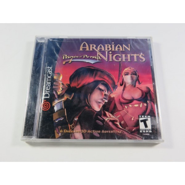 PRINCE OF PERSIA ARABIAN NIGHTS SEGA DREAMCAST NTSC-USA BRAND NEW