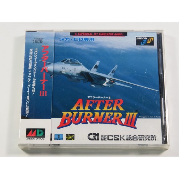 AFTER BURNER III SEGA MEGA-CD NTSC-JPN NEUF - BRAND NEW