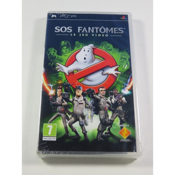SOS FANTOMES (GHOSTBUSTERS) - LE JEU VIDEO - PSP FR NEUF - BRAND NEW (NON OFFICIAL BLISTER)