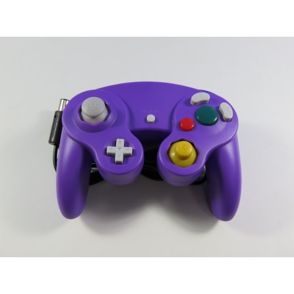 CONTROLLER - MANETTE NINTENDO GAMECUBE NON OFFICIAL VIOLET NEUF - BRAND NEW (WITHOUT BOX OR MANUAL)