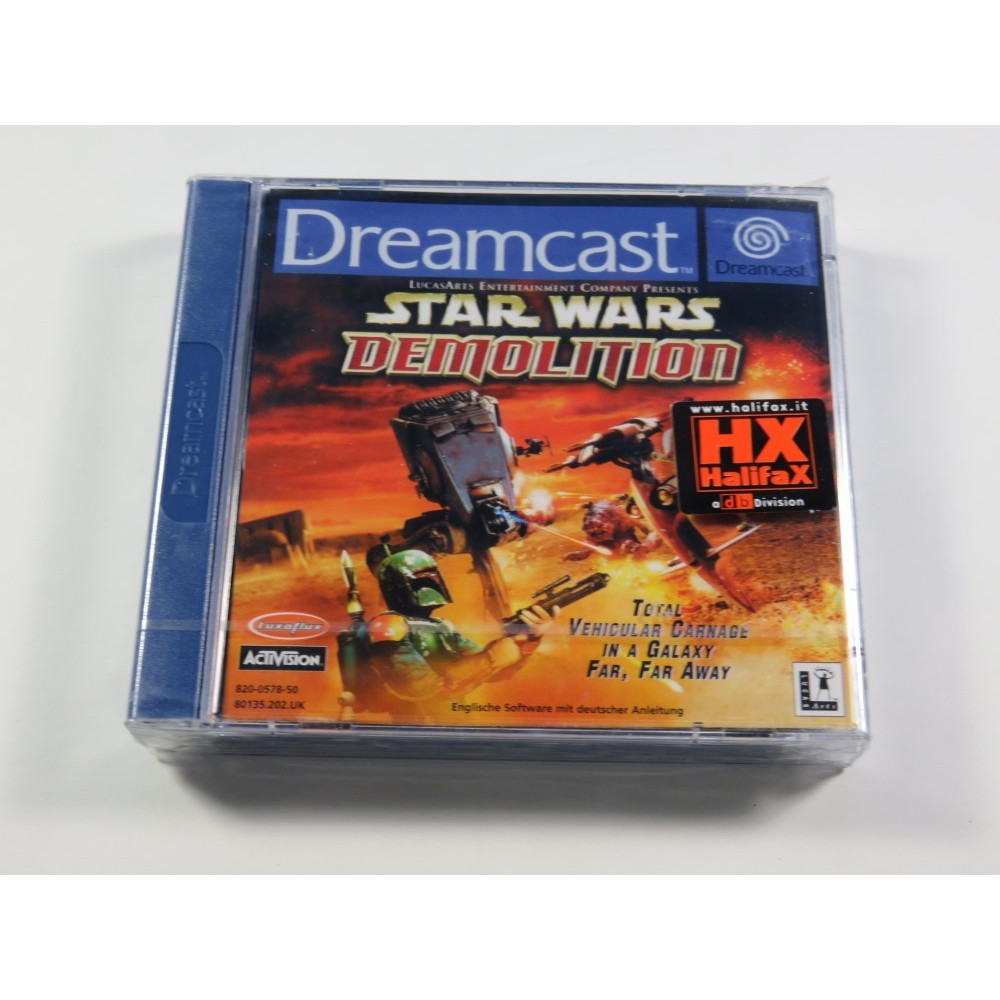 STAR WARS DEMOLITION SEGA DREAMCAST PAL-EURO NEUF - BRAND NEW