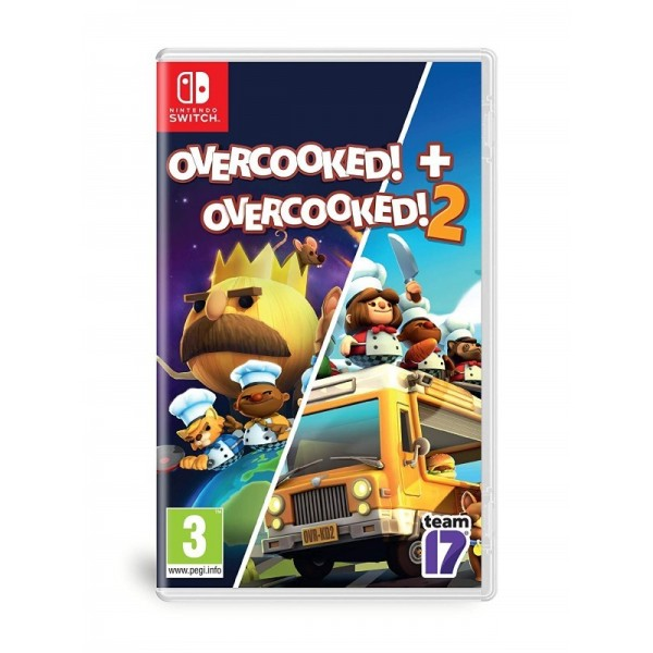 OVERCOOKED OVERCOOKED 2 DOUBLE PACK SWITCH FR OCCASION