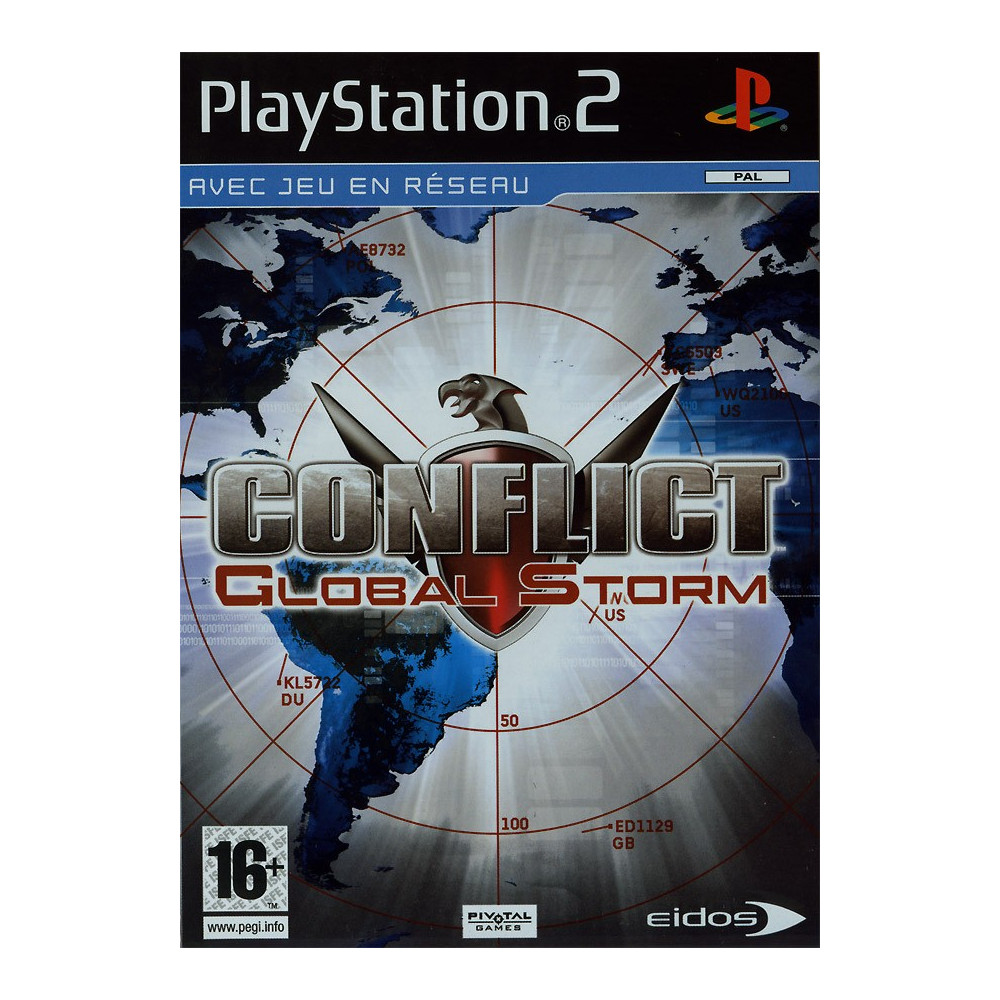 CONFLICT GLOBAL STORM PS2 PAL-FR OCCASION
