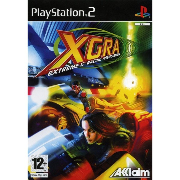 EXTREME G RACING ASSOCIATION XGRA PS2 PAL FR OCCASION