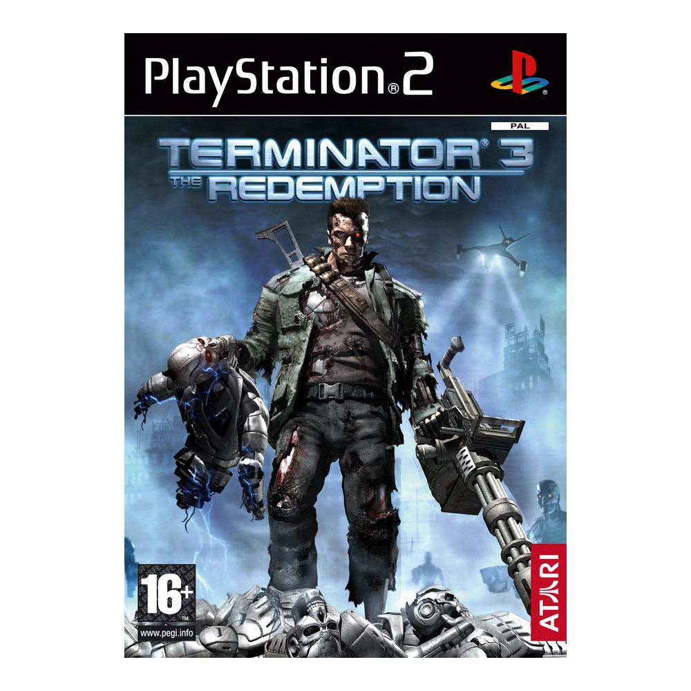 TERMINATOR 3 THE REDEMPTION PS2 PAL-FR OCCASION