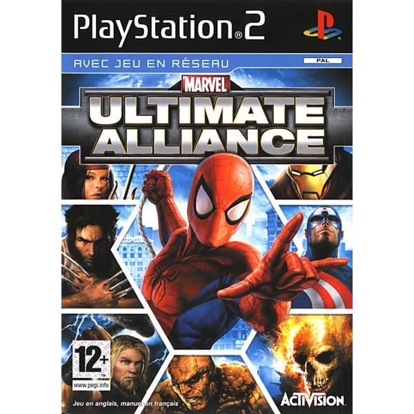 MARVEL ULTIMATE ALLIANCE PS2 PAL-FR (SANS NOTICE)