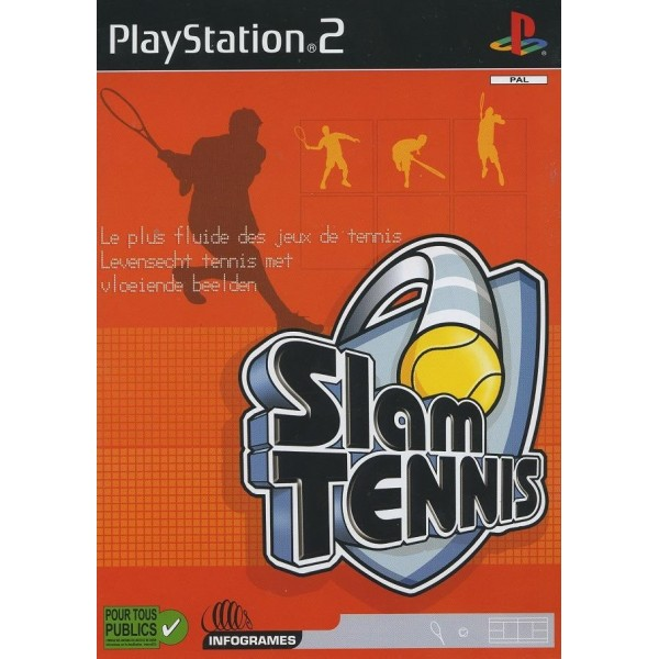 SLAM TENNIS PS2 PAL-FR OCCASION (SANS NOTICE)