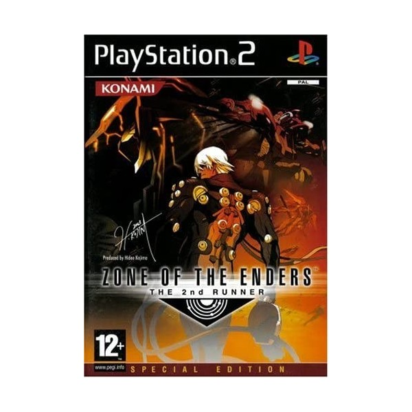ZONE OF THE ENDERS THE 2ND RUNNER PS2 PAL-FR OCCASION SANS NOTICE