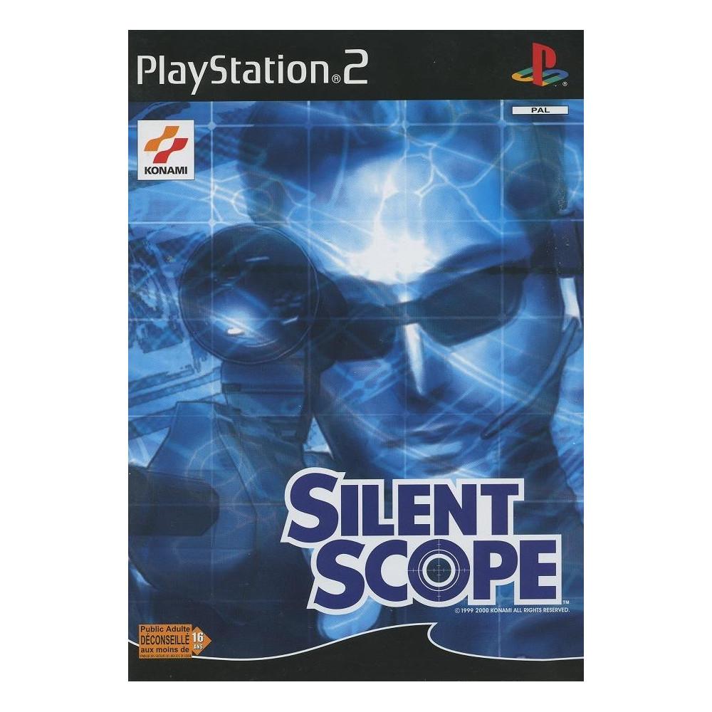 SILENT SCOPE PS2 PAL-FR OCCASION (SANS NOTICE)