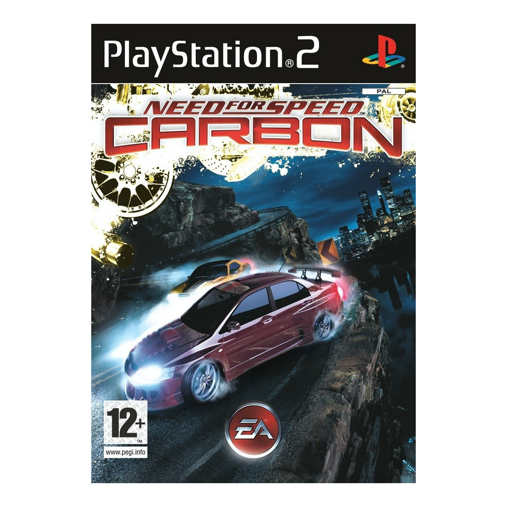 NEED FOR SPEED CARBON PS2 PAL-FR OCCASION (SANS NOTICE)