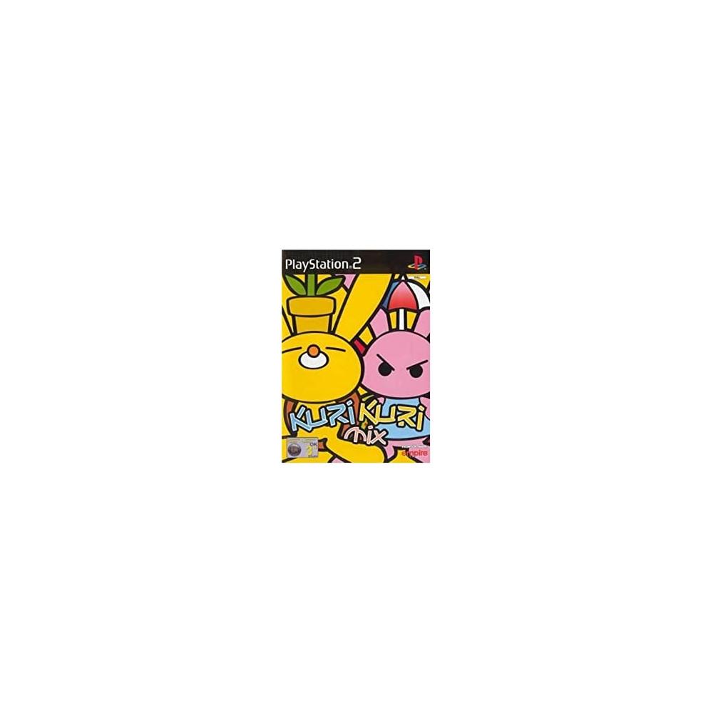 KURI KURI MIX PS2 PAL-FR OCCASION (SANS NOTICE)