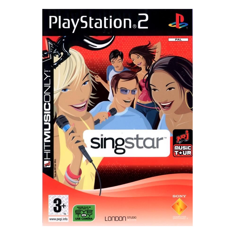 SINGSTAR NRJ MUSIC TOUR PS2 PAL-FR OCCASION SANS NOTICE