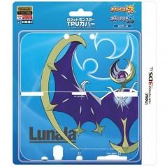 POCKET MONSTER TPU COVER LUNALA NEW 3DS LL JPN NEW