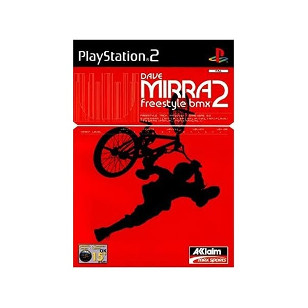 DAVE MIRRA FREESTYLE BMX 2 PS2 PAL-EURO OCCASION SANS NOTICE