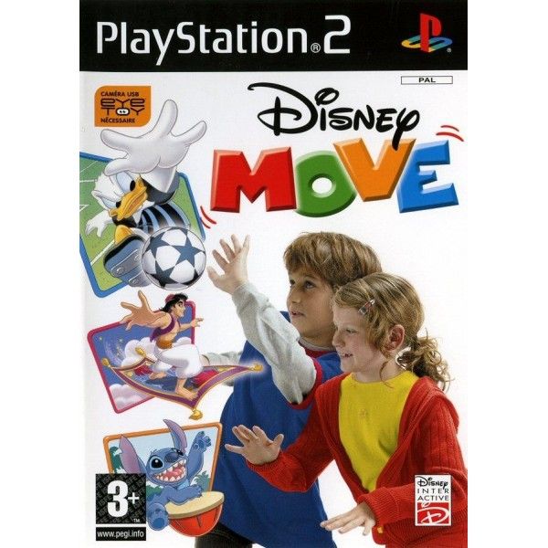 DISNEY MOVE PS2 PAL-FR OCCASION (SANS NOTICE)