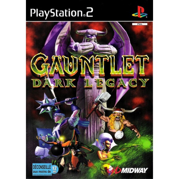GAUNTLET : DARK LEGACY PS2 PAL-FR OCCASION SANS NOTICE
