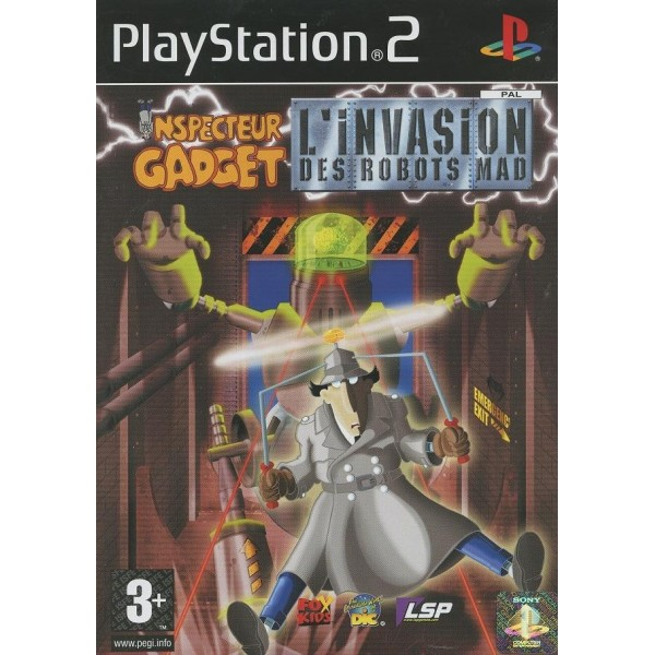 INSPECTEUR GADGET - L INVASION DES ROBOTS MAD PS2 PAL-FR OCCASION (SANS NOTICE)