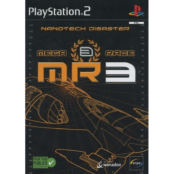MEGA RACE 3 NANOTECH DISASTER PS2 PAL-FR OCCASION