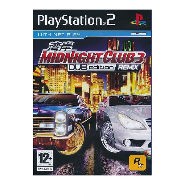 MIDNIGHT CLUB 3 DUB EDITION REMIX PS2 PAL FR OCCASION (SANS NOTICE)