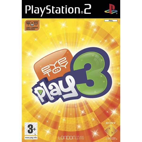 EYE TOY PLAY 3 PS2 PAL-FR OCCASION
