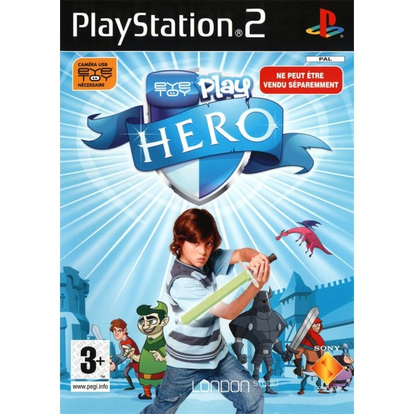 EYE TOY PLAY HERO PLAYSTATION 2 (PS2) PAL-FR OCCASION