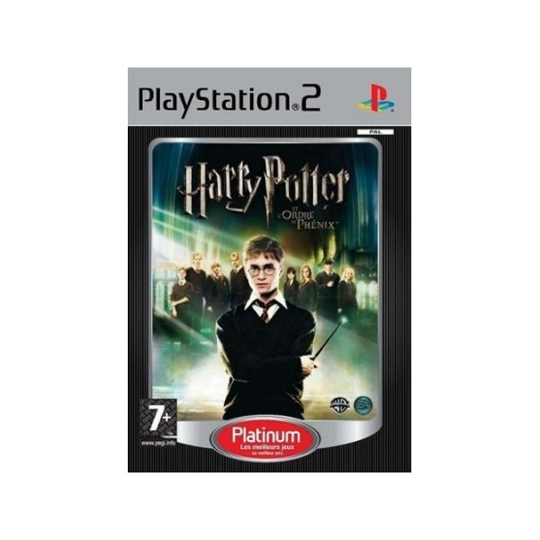 HARRY POTTER ET L ORDRE DU PHENIX PLATINUM PS2 PAL-FR OCCASION