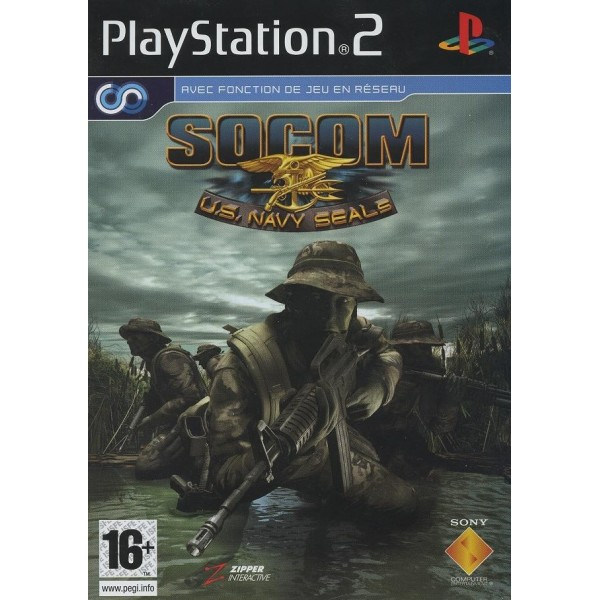 SOCOM US NAVY SEAL PS2 PAL-FR OCCASION (BUNDLE COPY)