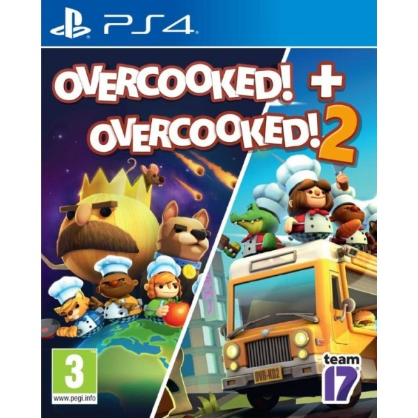 OVERCOOKED 1+2 PS4 FR NEW