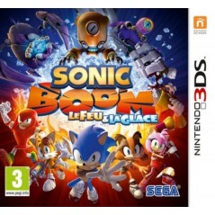 SONIC BOOM FEU & GLACE 3DS PAL-FR OCCASION