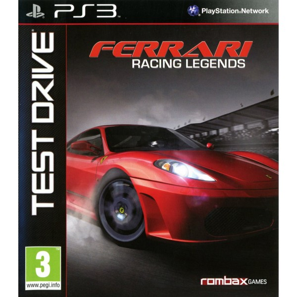 TEST DRIVE: FERRARI RACING LEGENDS PS3 FR OCCASION